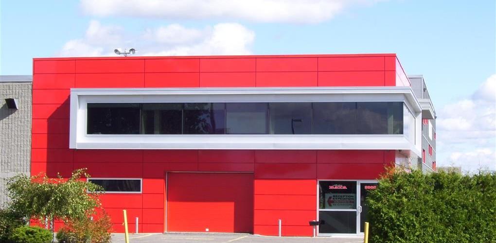 Projet du siège social de Acier Bata