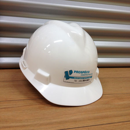 casque de construction Prospéco construction
