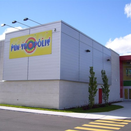 Projet FunTropolis Saint-Hubert